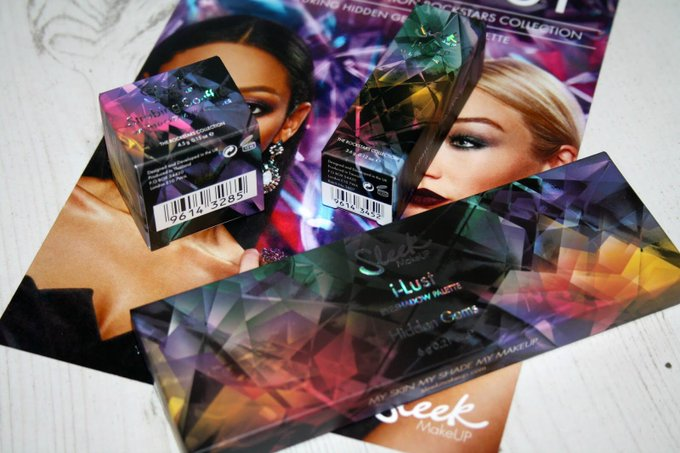 New from SleekMakeUP the Sleekrockstars collection bbloggers FemaleBloggerRT