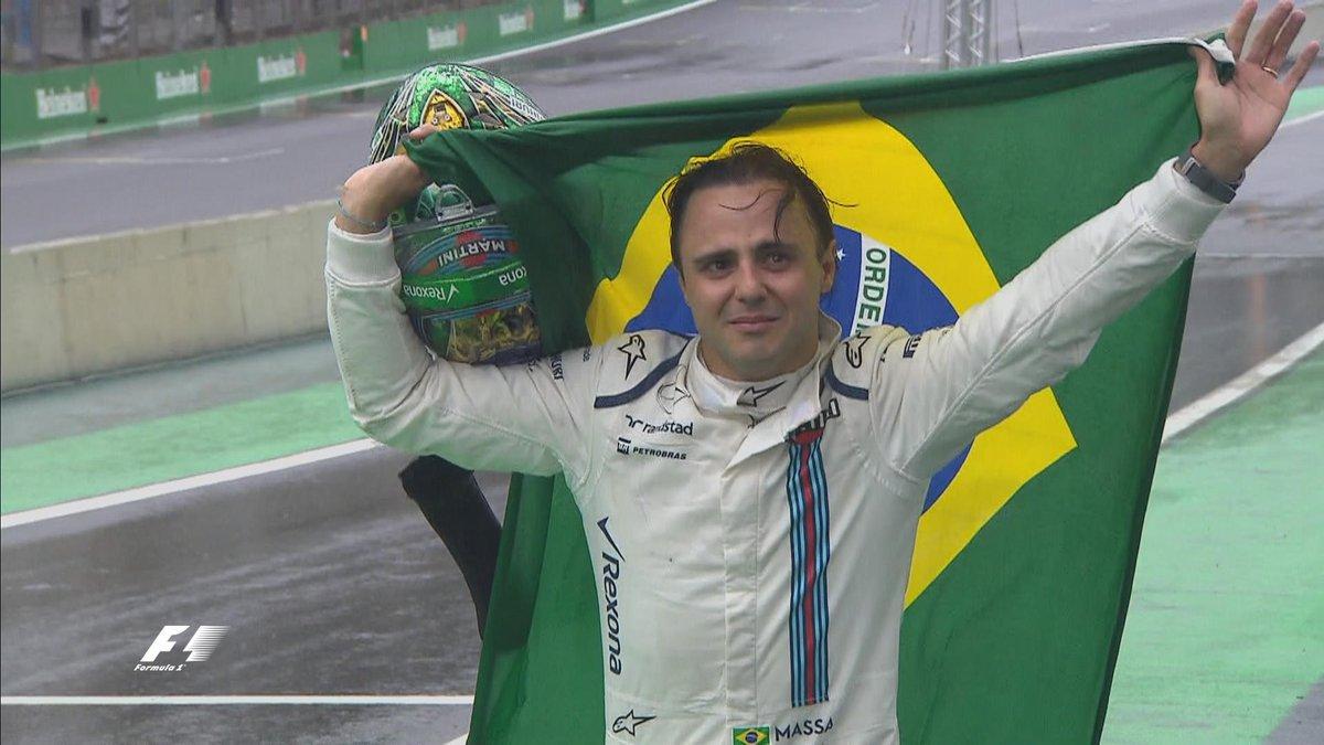 F1 Brasile: Felipe Massa emozionato nel suo ultimo GP.