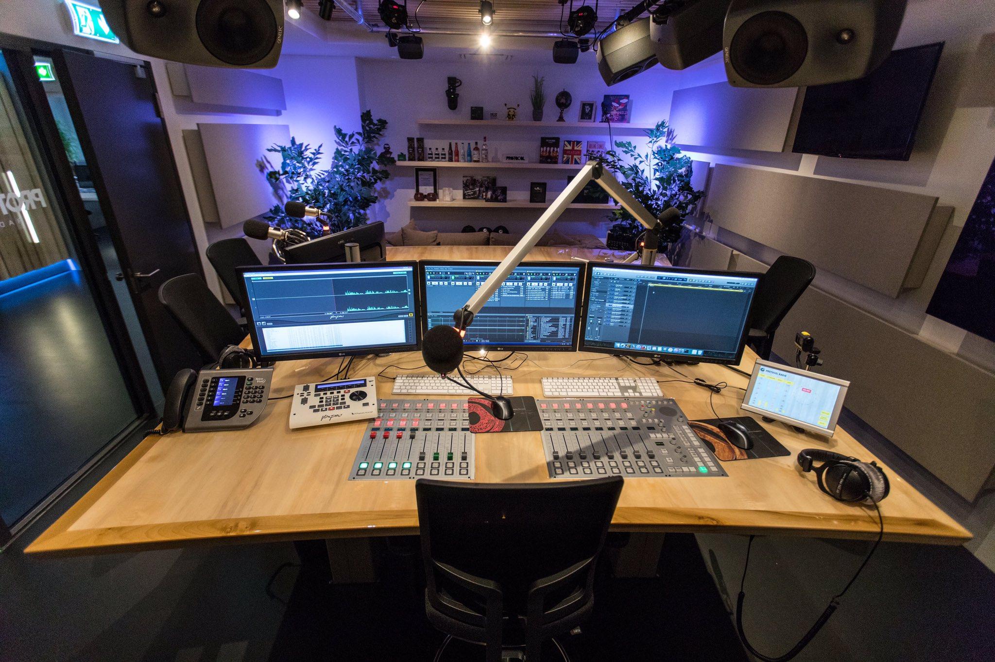 "Nicky Romero on Twitter: ""Protocol Radio Studio is done!…"