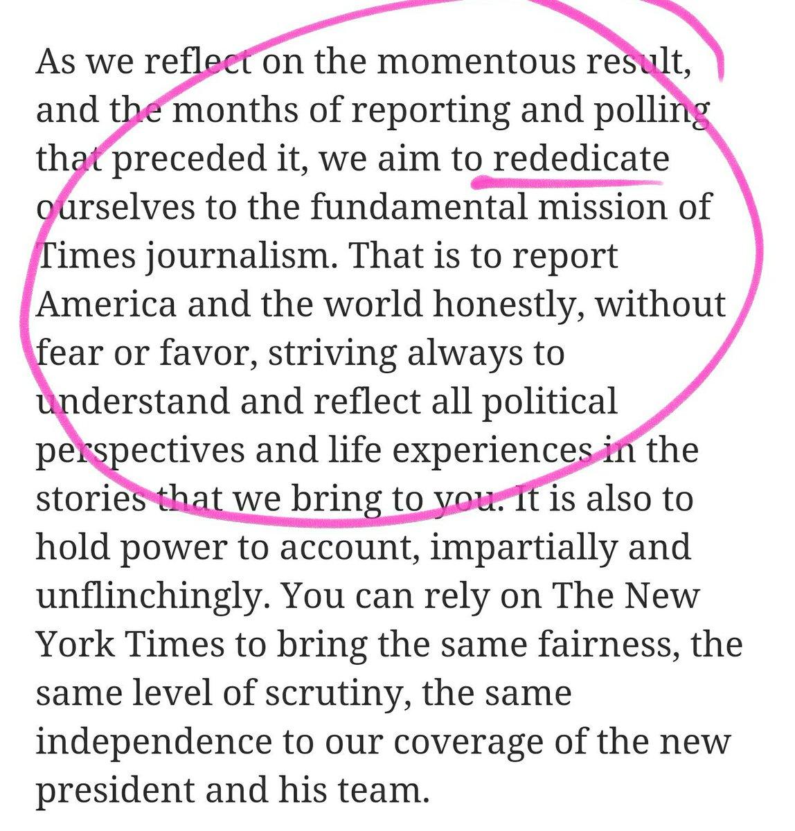 Jösses - NYT överger agendajournalistiken?