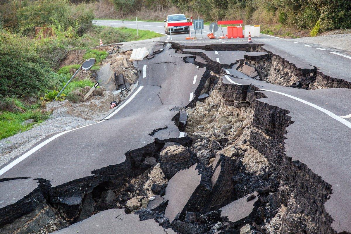 Due morti nel Terremoto M7,8 in Nuova Zelanda. Oggi altra forte scossa M6,5.