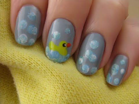 Baby Shower Nail Art CutePolish Beauty Nails -