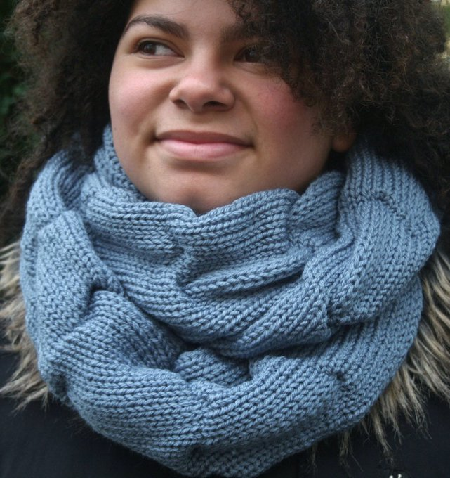 Knitted infinityscarf fashion Accessories Check out my Etsyshop - etsy etsymntt craft