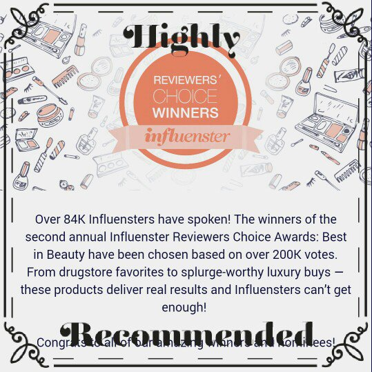 Check out Influenster's BestInBeautyAwards here:beauty makeup