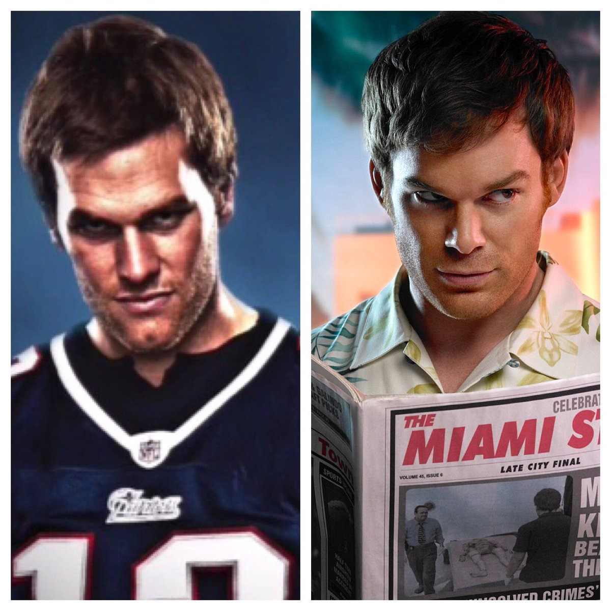 Why Does Tom Brady 39 S Snf Picture Look Like Dexter