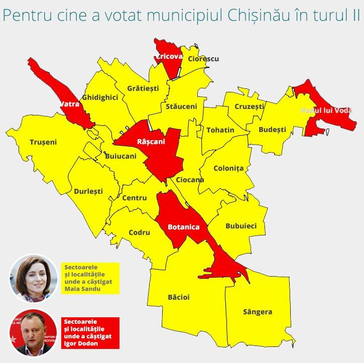 Выборы в Молдове: ЦИК обработал 99,9% бюллетеней, пророссийский кандидат Игорь Додон объявил о своей победе - Цензор.НЕТ 3185