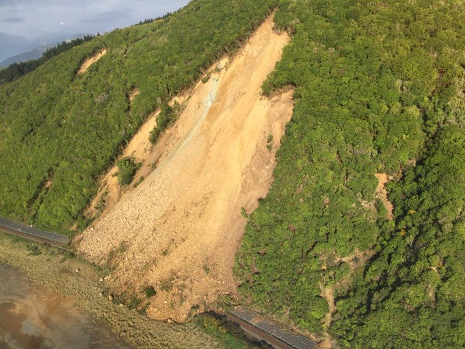 Earthquake Hit New Zealand