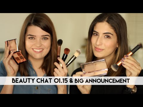Beauty Chat 01.15 & Big Announcement // Lily Pebbles LilyPebbles LoveYa MakeUp Beauty -