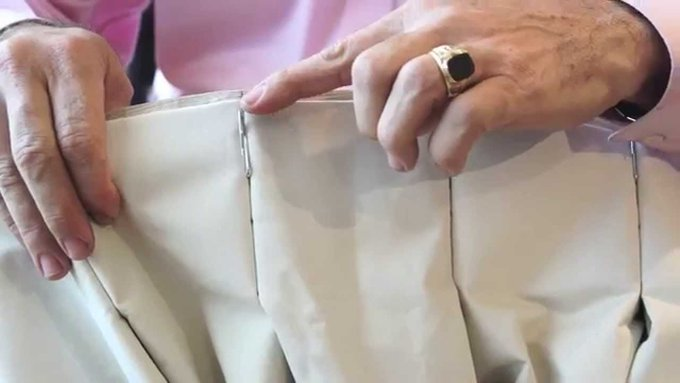 [VIDEO] DIY How to Pin Drapery Hooks On Curtains. Watch: windowtreatments