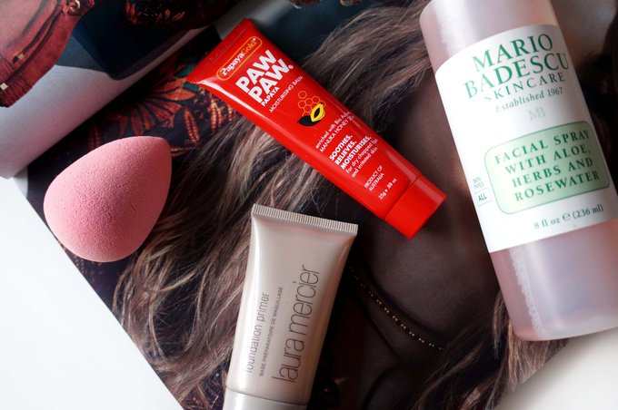 New: Products to help with dry skin in the winter bbloggers FemaleBloggerRT