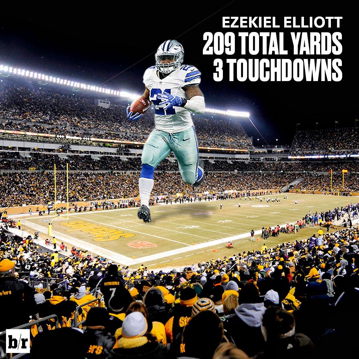 Galerry Dallas Cowboys 2013 2015 RB Ezekiel Elliott Dallas Cowboys