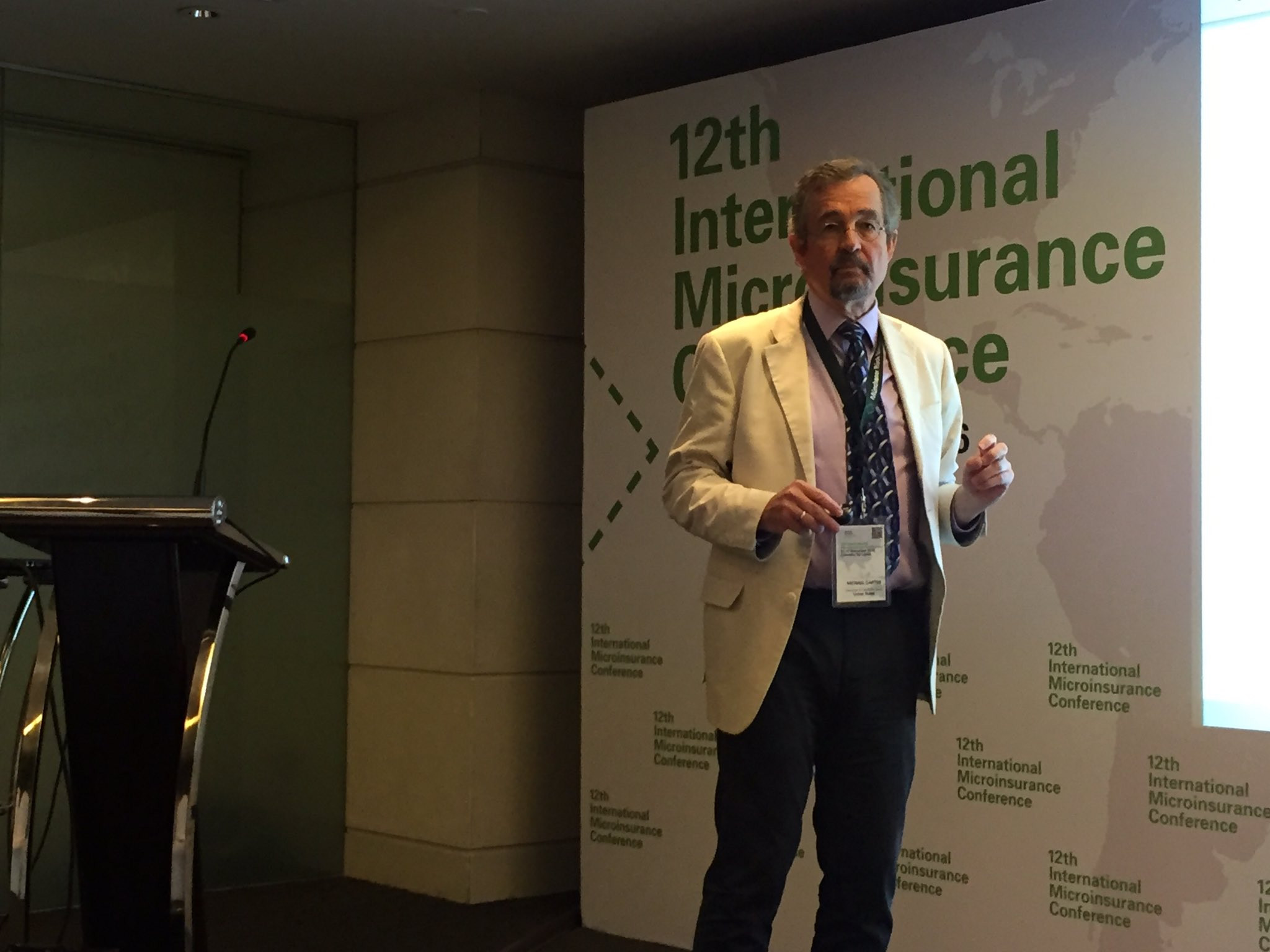 Michael Carter @ #12thIMC: When fighting poverty, think about how people became poor #CEAR #microinsurance https://t.co/Ndu3c9WhHK