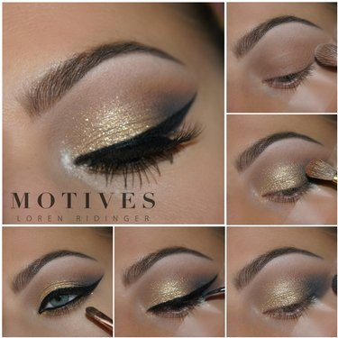 Have a stellar time at your holiday gathering with this makeuplook Tutorial here makeup