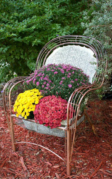 Turn a Chair into a Garden Bed DIY ~>| homeditcom RT alex_ion