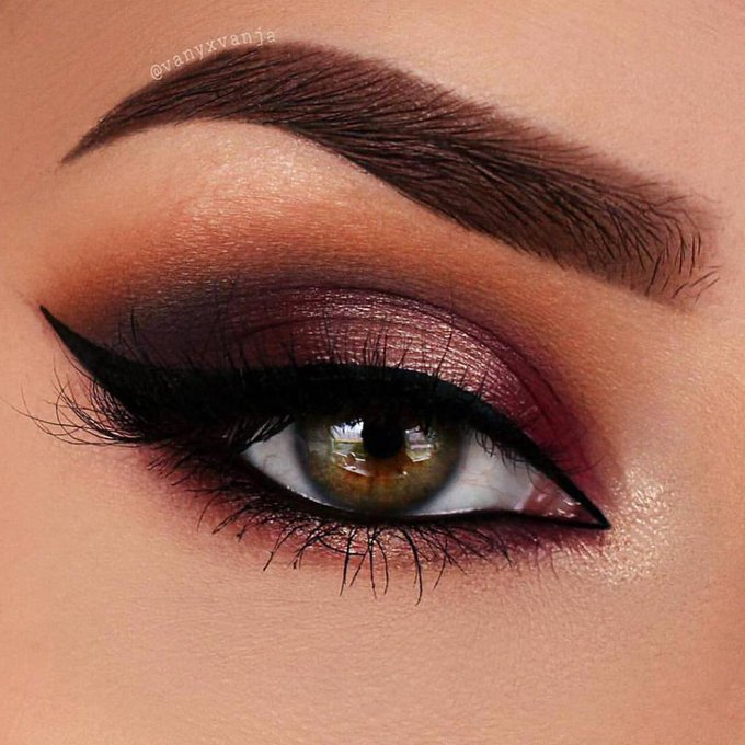 Beautiful By: vanyxvanja instagram makeuptutorial eyes tutorials eyeshadow makeup