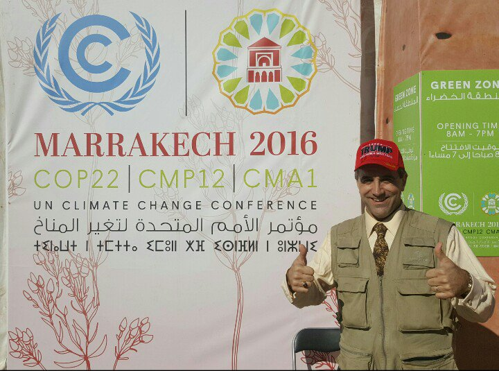 Morano in Morocco on Trump: 'Expect both international & domestic climate agenda to be reversed. It's about time!'