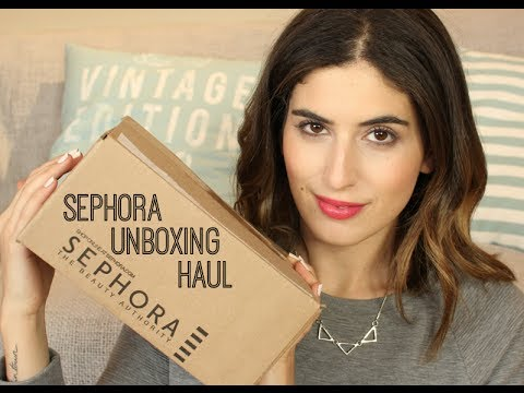 Sephora Unboxing Haul // Lily Pebbles LilyPebbles LoveYa MakeUp Beauty -