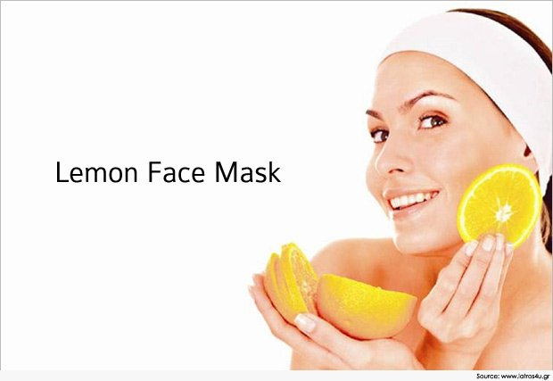 3 Lemon Face Mask for Beautiful Skin ,