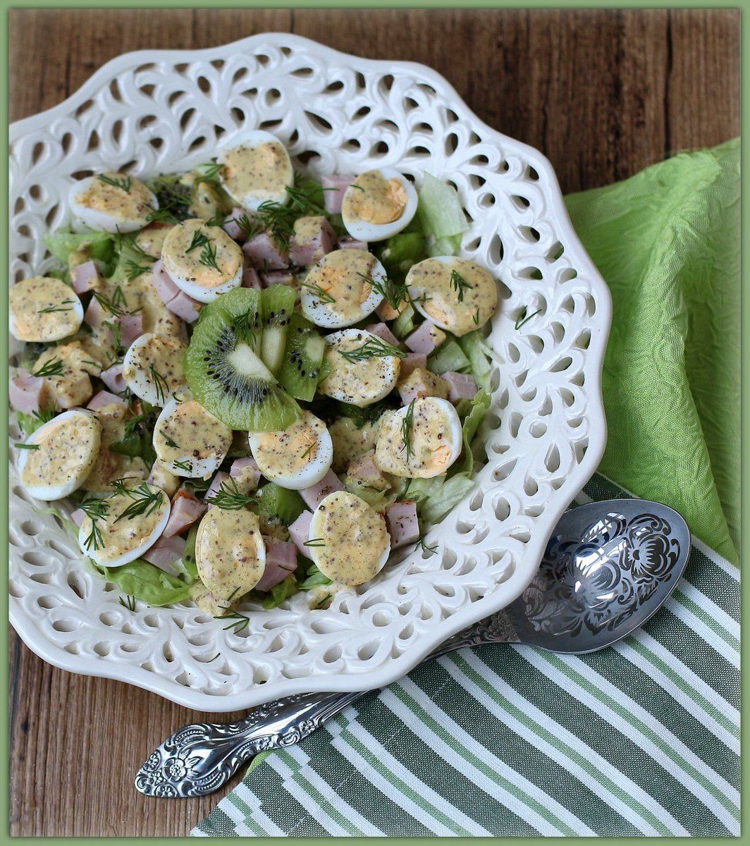 Салаты с киви рецепты с фото