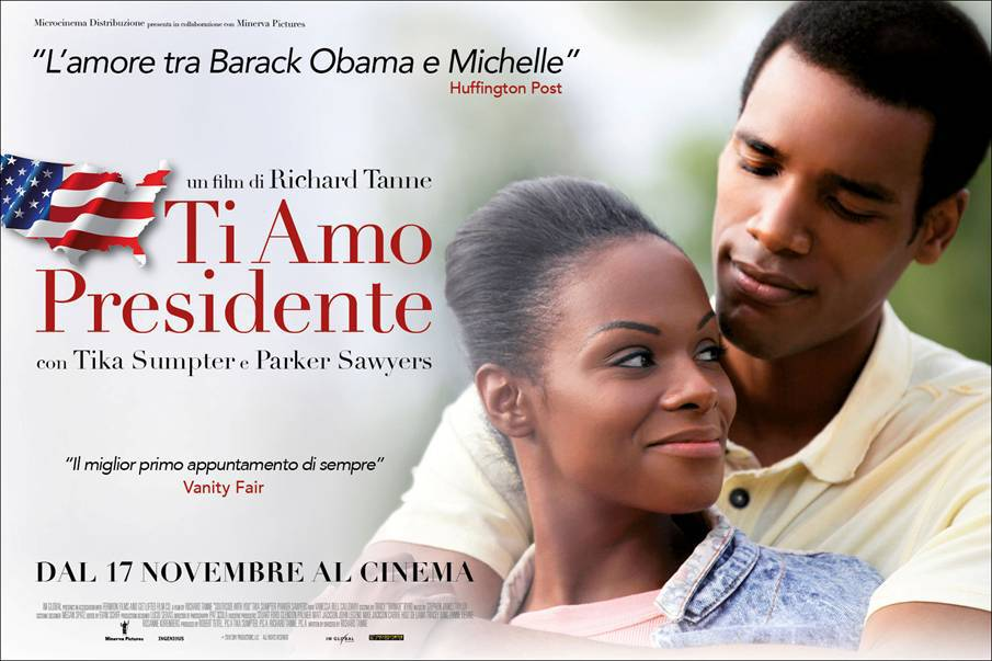 TI AMO PRESIDENTE, film sul primo appuntamento di Barack e Michelle Obama.