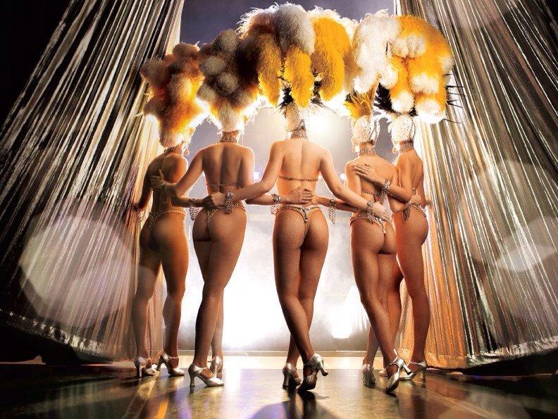 Topless dancers