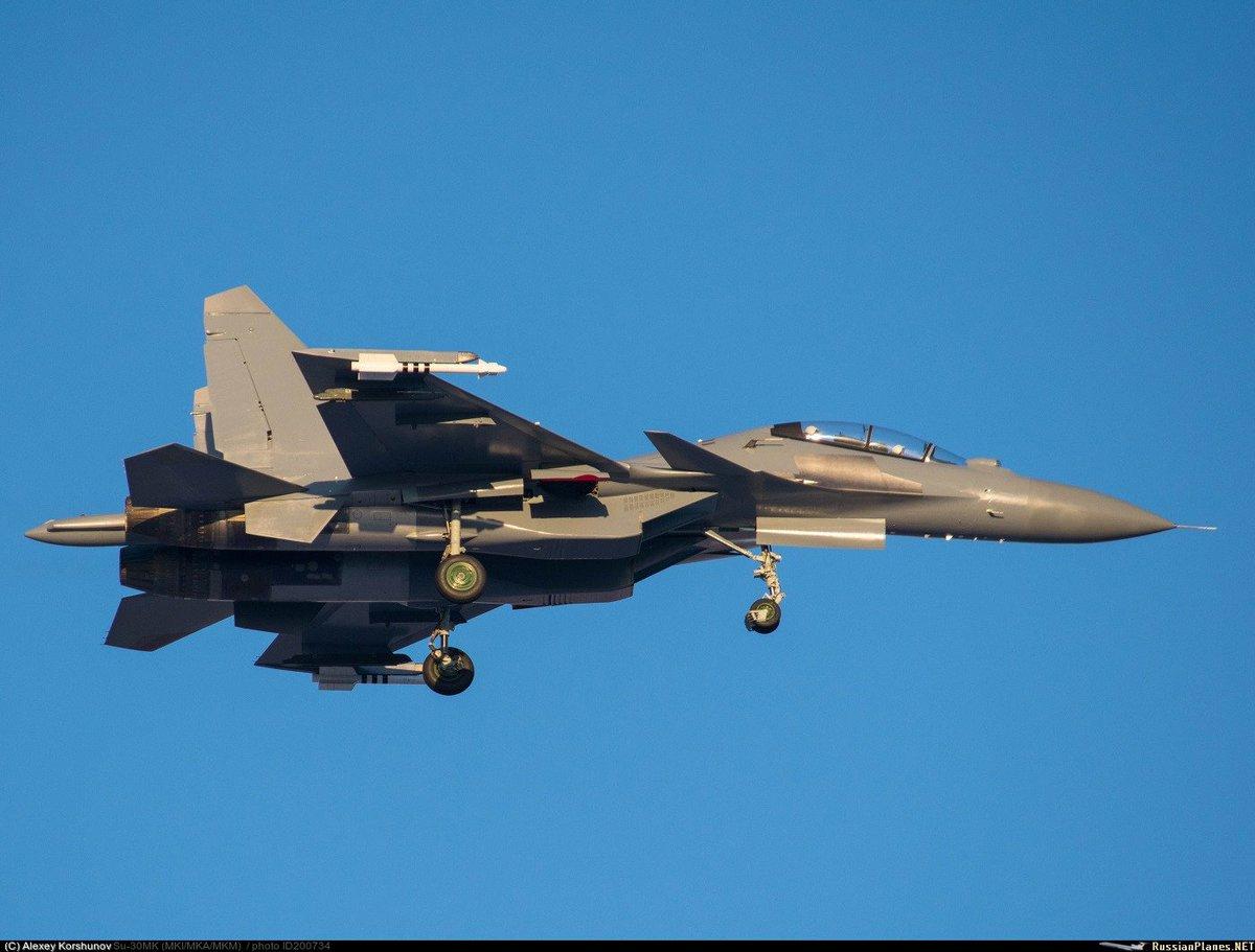 الجزائر توقع عقدا مع روسيا لشراء 14 مقاتله اضافيه نوع  Su-30 MKA  CxO25QyUAAEB7rM