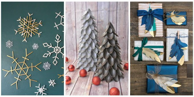 50+ Christmas Crafts Your Whole Family Will Love