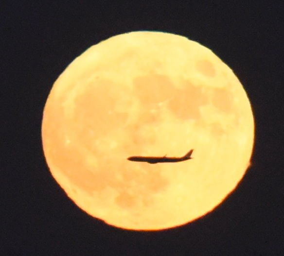 Xinhua exclusive photos taken in Beijing bring you a once-in-a-blue-moon view! (Photos by Jiang Yan) #supermoon