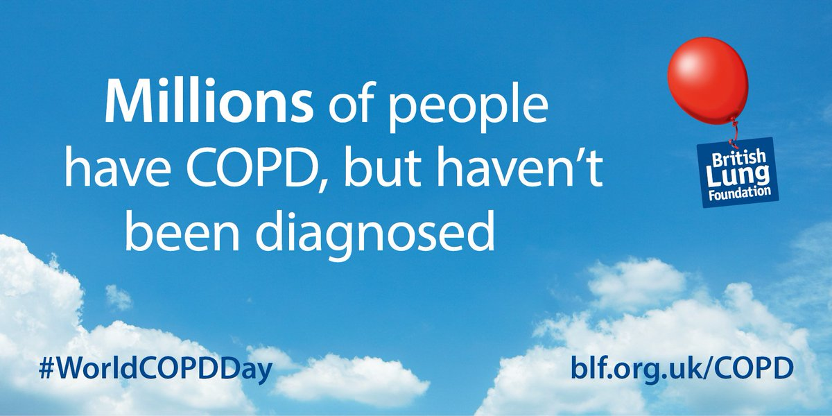 Are you one of the missing millions with lung disease? https://t.co/wJkw5VWbQ9 #worldcopdday https://t.co/qmZTH5DOEs