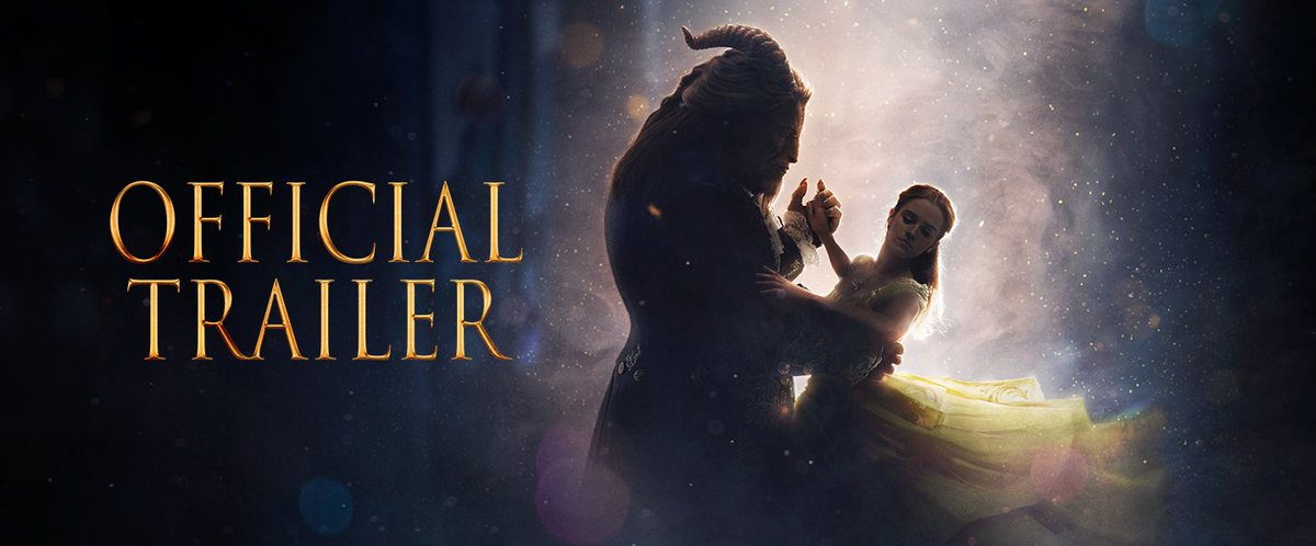 Get swept away by the #BeautyAndTheBeast trailer.