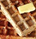 Apple Oatmeal Waffles