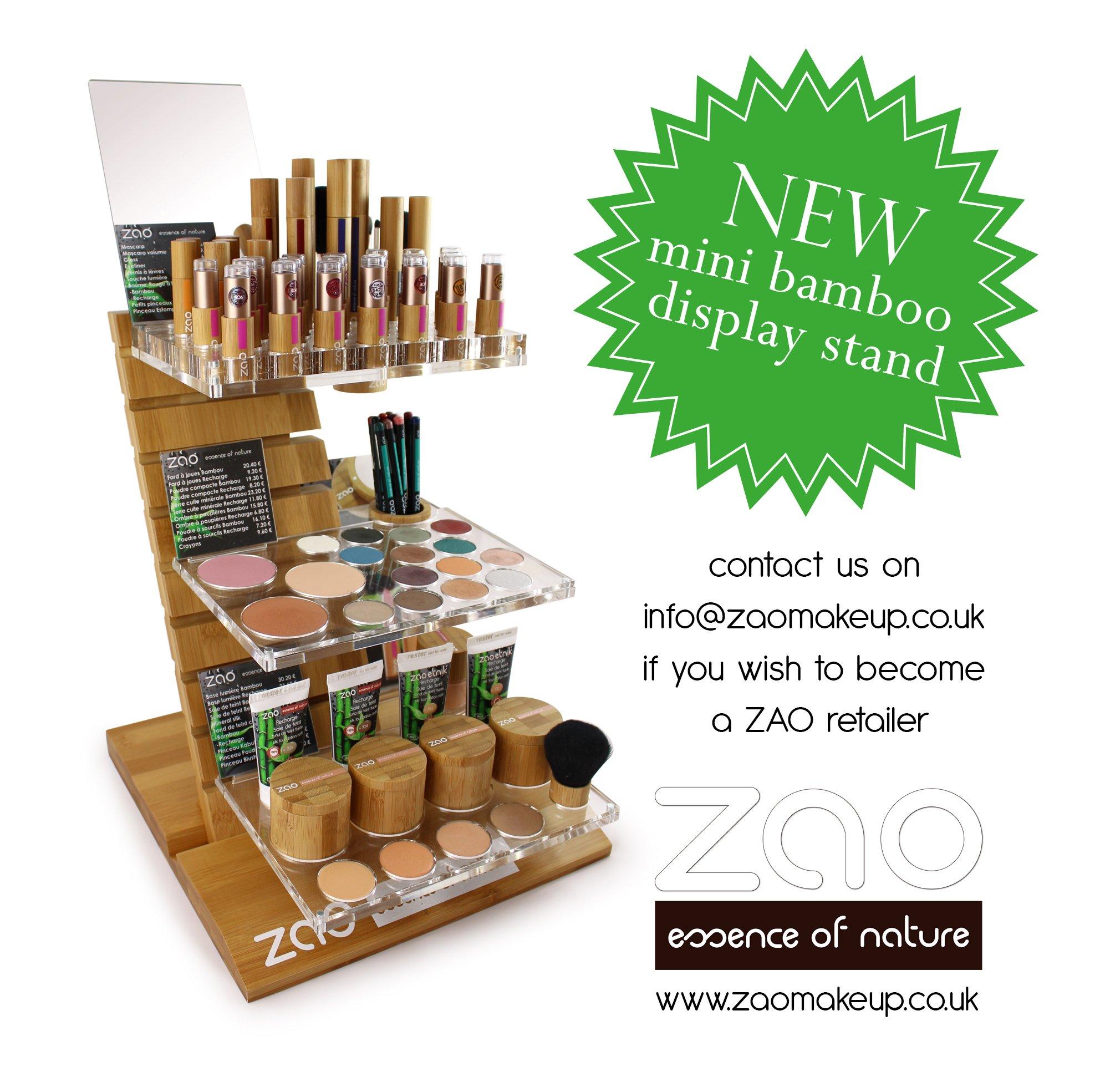 New Zao Mini Bamboo Display Stand
