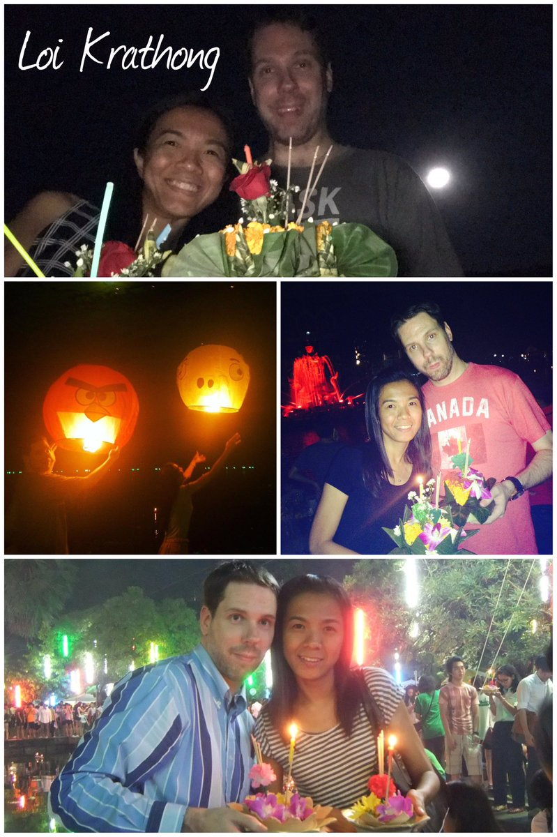 Tonight we celebrated Loi Krathong & made a wish for our future life in Penticton, Canada.  Loi Krathong photos from this year & past years: https://t.co/ooQotX3jST