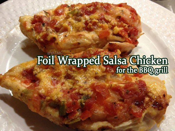 Easy Foil Wrapped Salsa ://