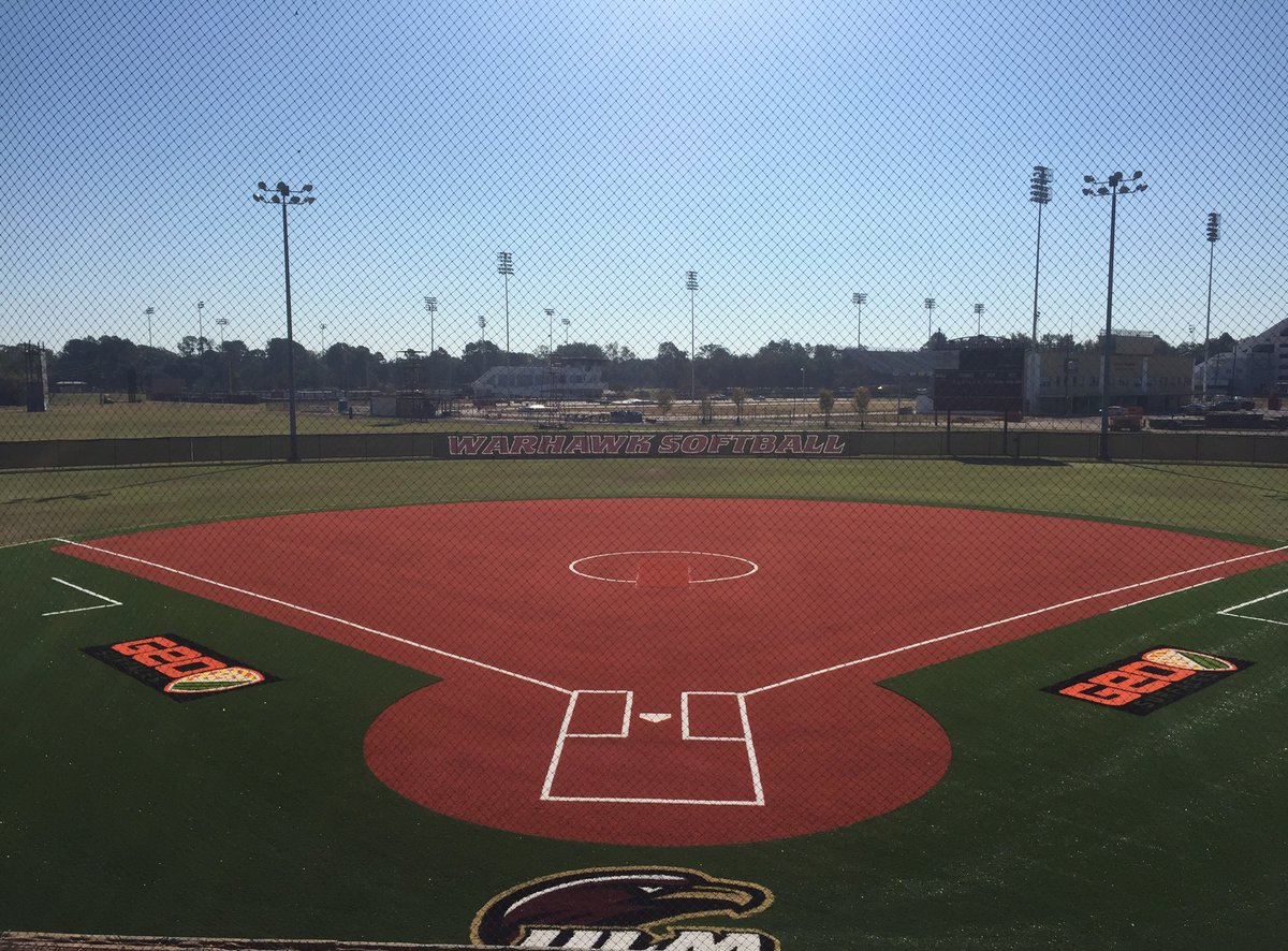 Ulm Softball On Twitter Turf Infield Is Officially Complete Thank