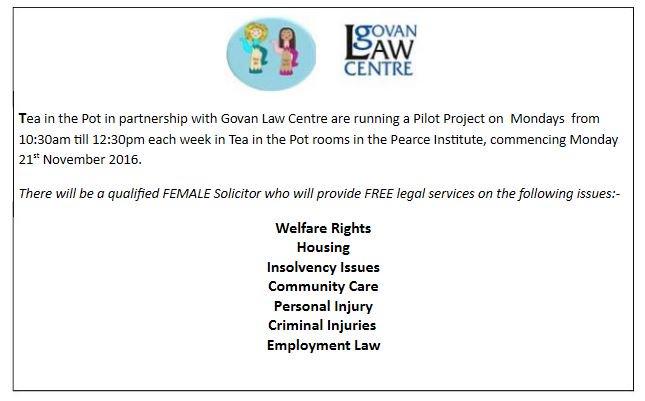 356b5d22f386 Govan Law Centre on Twitter