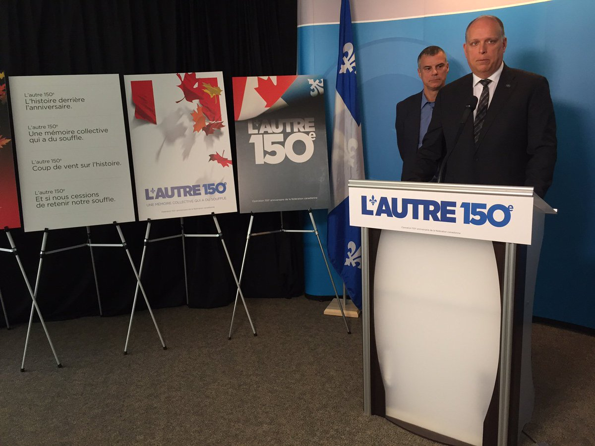 As feds prepare #Canada150  celebrations, @partiquebecois launches Quebec-focused counter-campaign: #Autre150e. #cdnpoli #polqc #PQ<br>http://pic.twitter.com/maVCWEHwrb