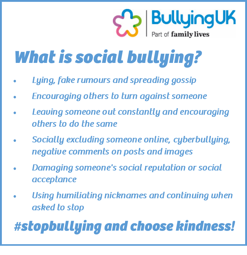 55% young people surveyed experienced social bullying #antibullyingweek2016  https://t.co/6mjWi08XfK https://t.co/t9HjxQ8Yu0
