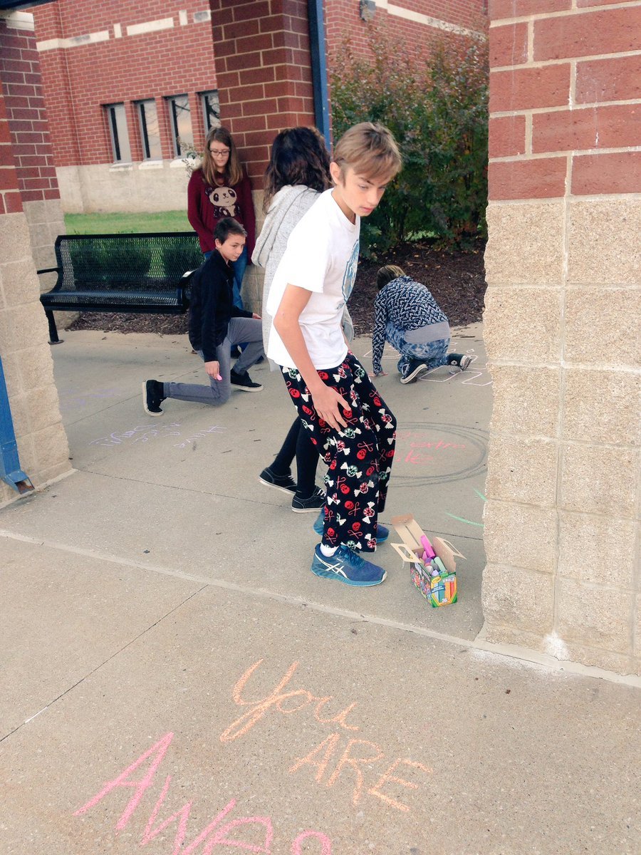 Roller skating rink jefferson city mo - My Advisory Paired With 6th And 7th Grade Advisory Classes Today To Make Our Sidewalks Say Encouraging Phrases Jcshines Strongertogetherpic Twitter Com