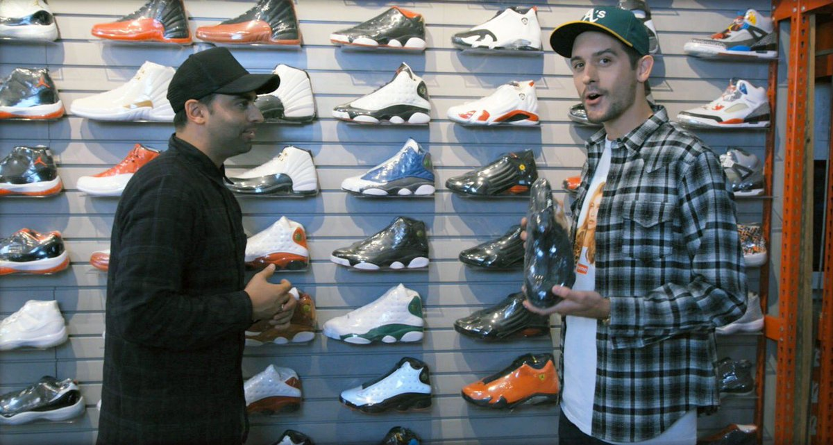 xgames performer g eazy went sneaker shopping with complex