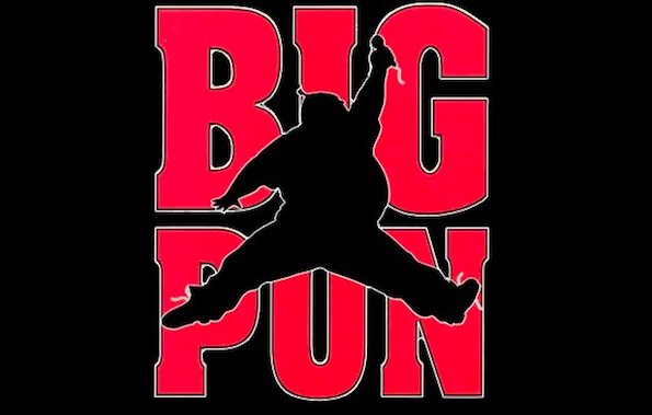 here s the untold story of big pun s iconic jumpman logo