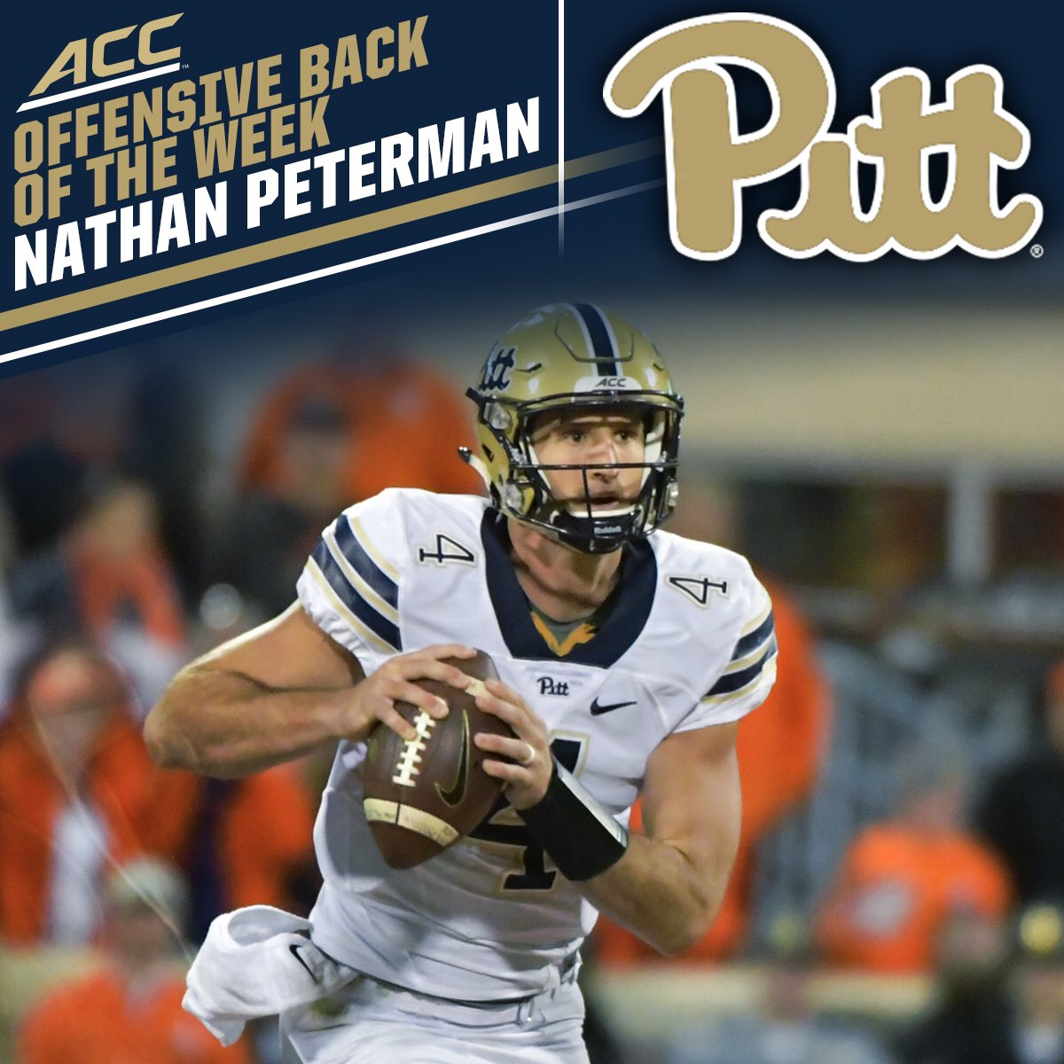 more photos 6e29b 805d8 Pitt Football on Twitter:
