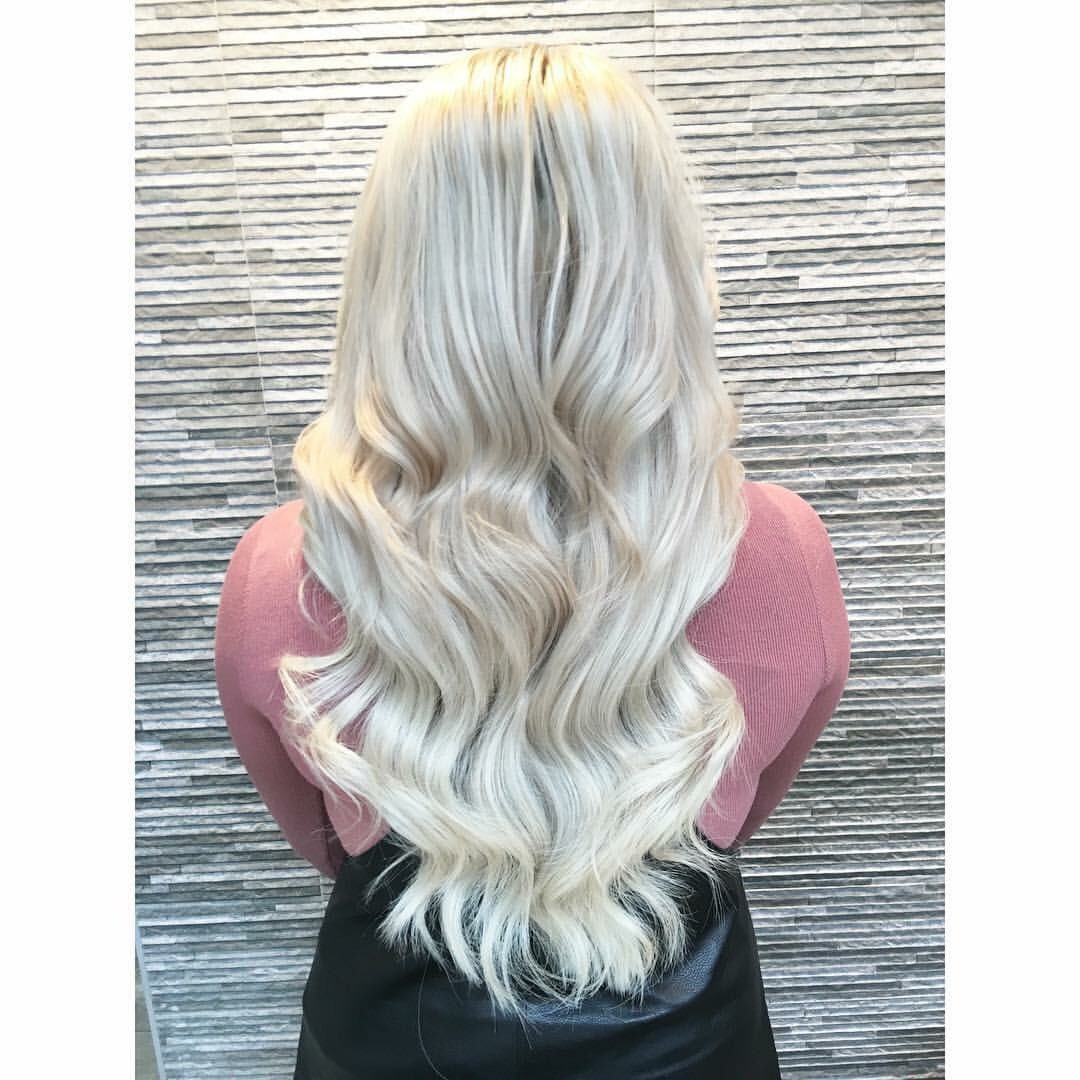 Thomas J William On Twitter Ice Blonde Hair Extensions Colour