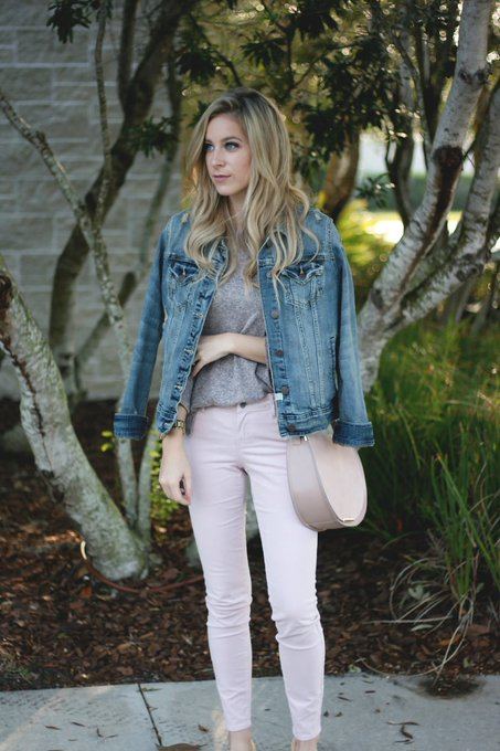 Pink corduroy pants and how to style them on A Daydream Love! OldNavy fbloggers ootd