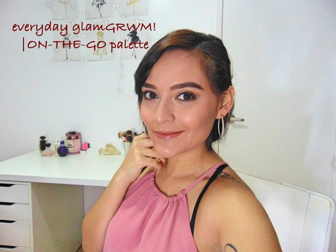 New video is up GRWM! Link makeup makeupguru