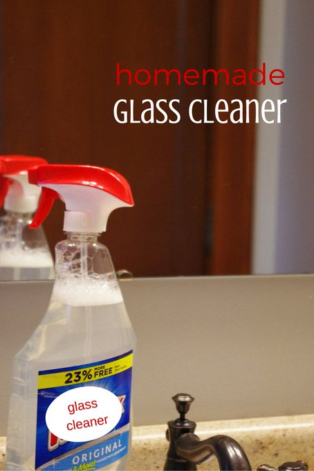 Get your home company ready with this DIY Glass Cleaner!