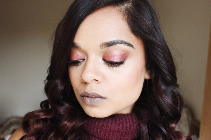 NEW POST: Autum Inspired Everyday Makeup bbloggers GRLPOWRCHAT