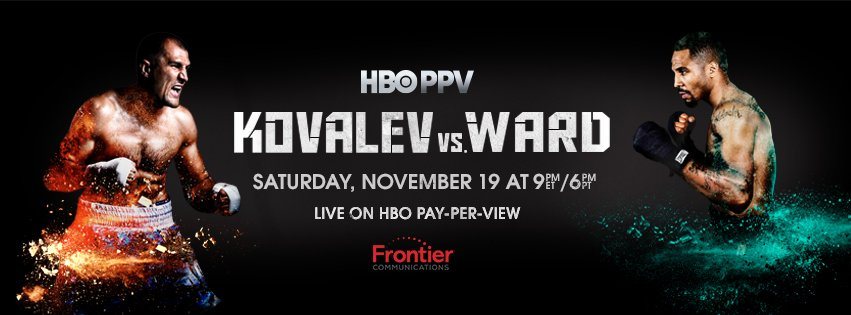 With our @HBOBOXING #RT2Win, you could win big before #KovalevWard. #FrontierBoxing https://t.co/Esccbu8gj4 https://t.co/8JzxE2XbQQ