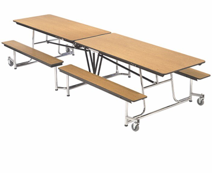 Some of the realist conversations in life went down at this table in school