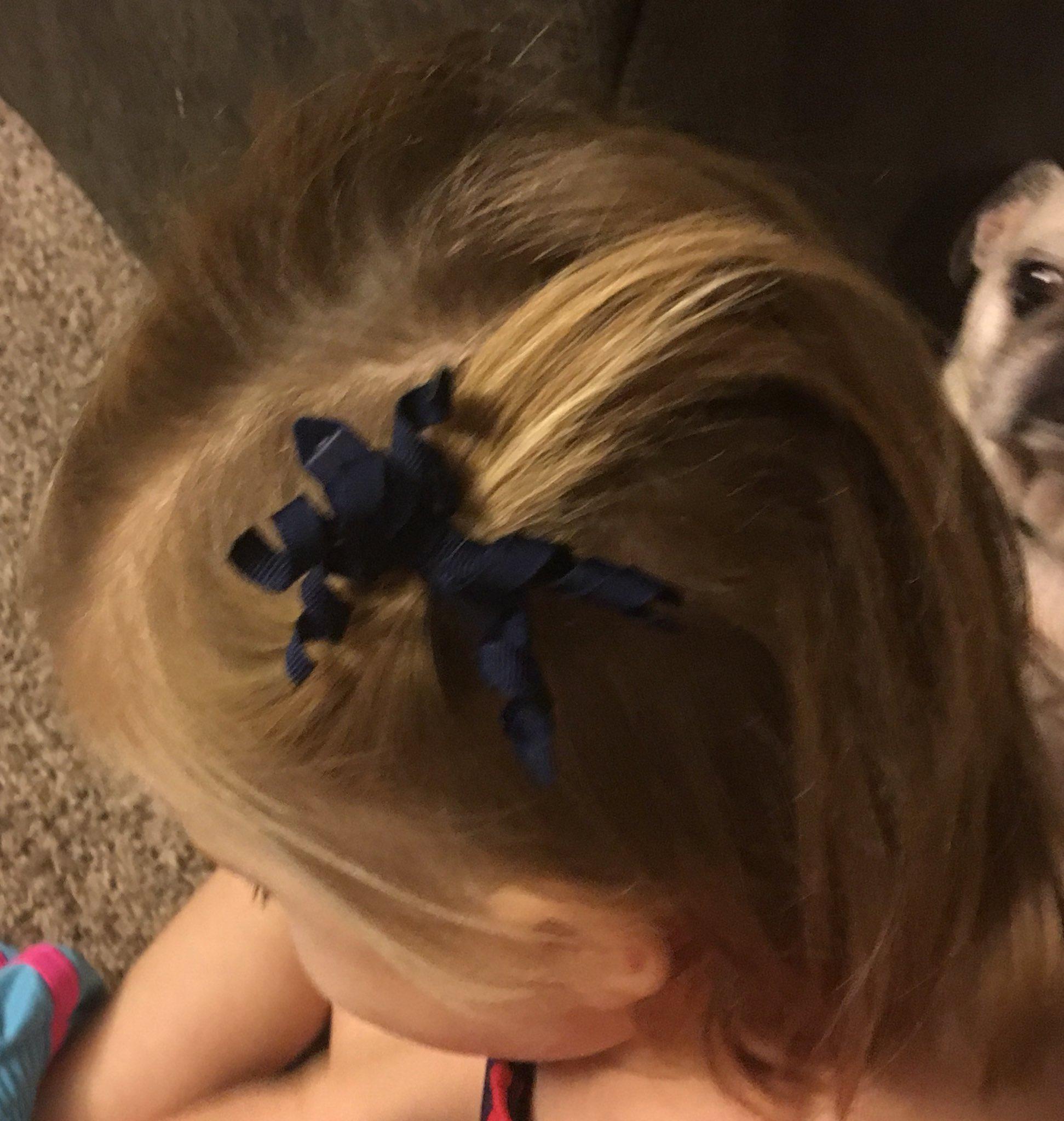 @massp trying creative hairstyles. 😀#masspchat https://t.co/G9u0D3t354